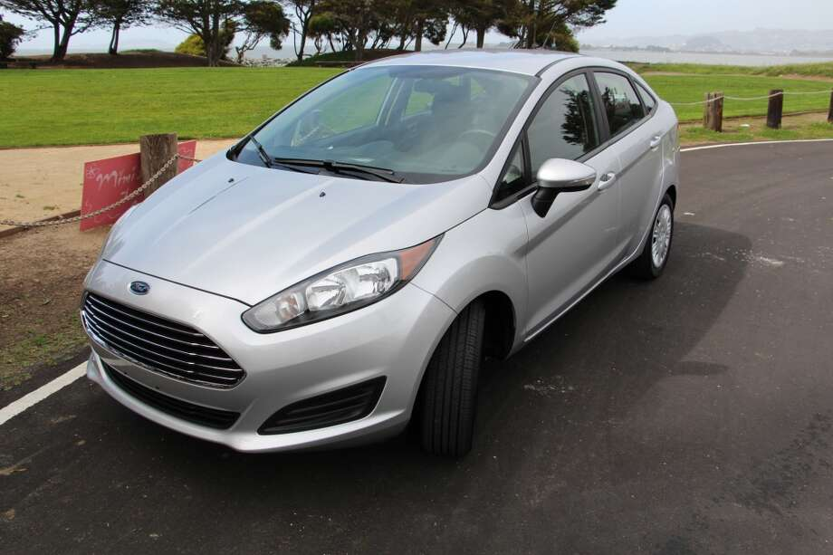 The 2014 Ford Fiesta is, with the nearly-as-small Focus, a hit in the Ford stable. It's a small car and so you have to like the bouncy ride you get in a small car. (All photos by Michael Taylor.)