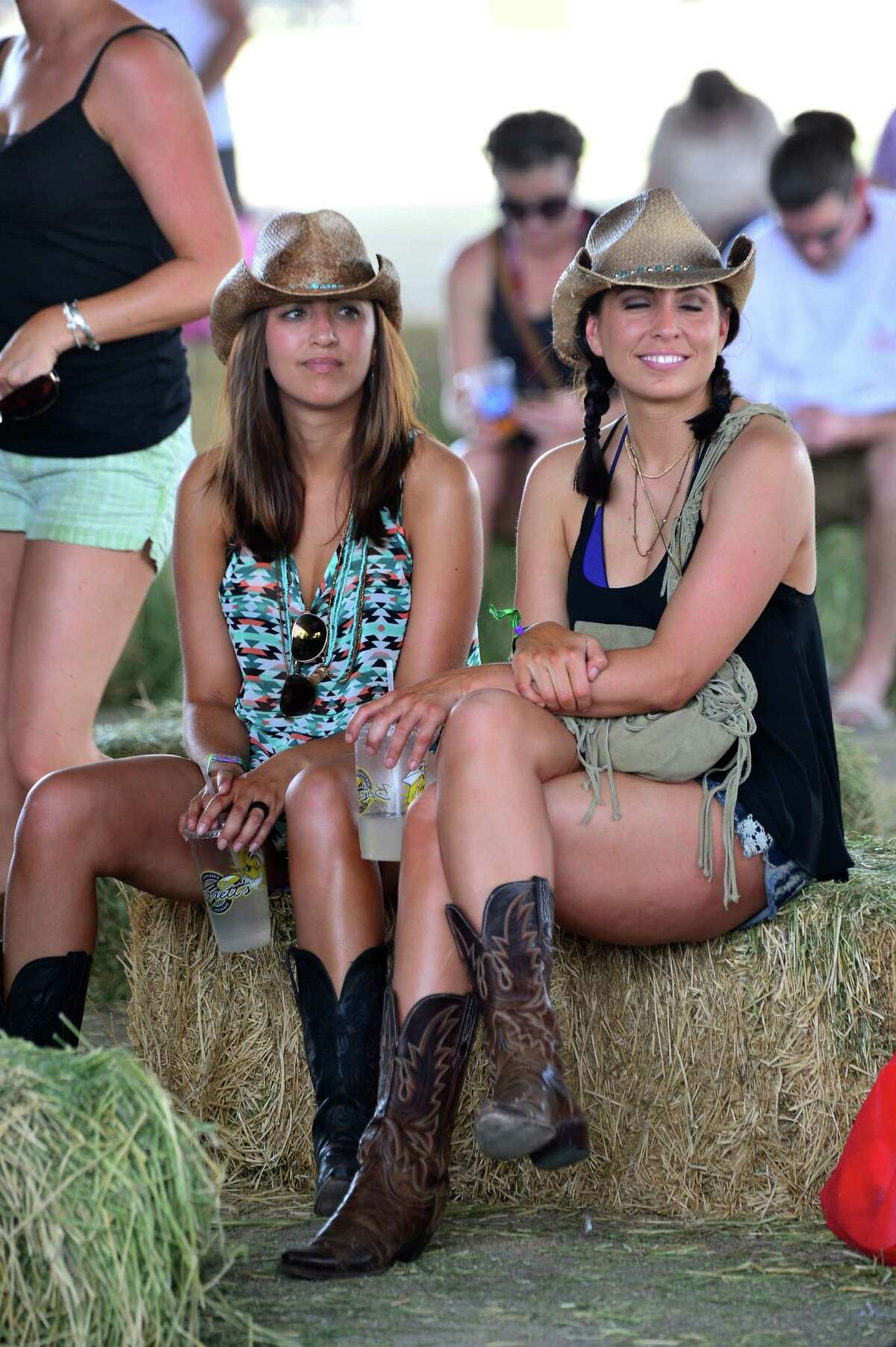 Music fans during day 1 of 2014 Stagecoach: California's Country Music Festival at the Empire Polo Club on April 25, 2014 in Indio, California.