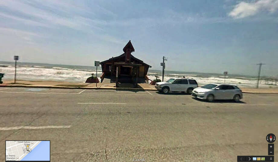 In 2007: The Balinese Room on Galveston's Seawall was still standing. Photo: Google Maps