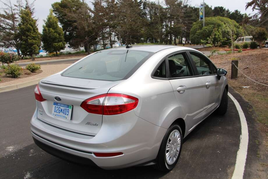 Our test car's three-cylinder engine churned out 123 horsepower and has EPA fuel economy figures of 32/45 mpg, city/highway.)