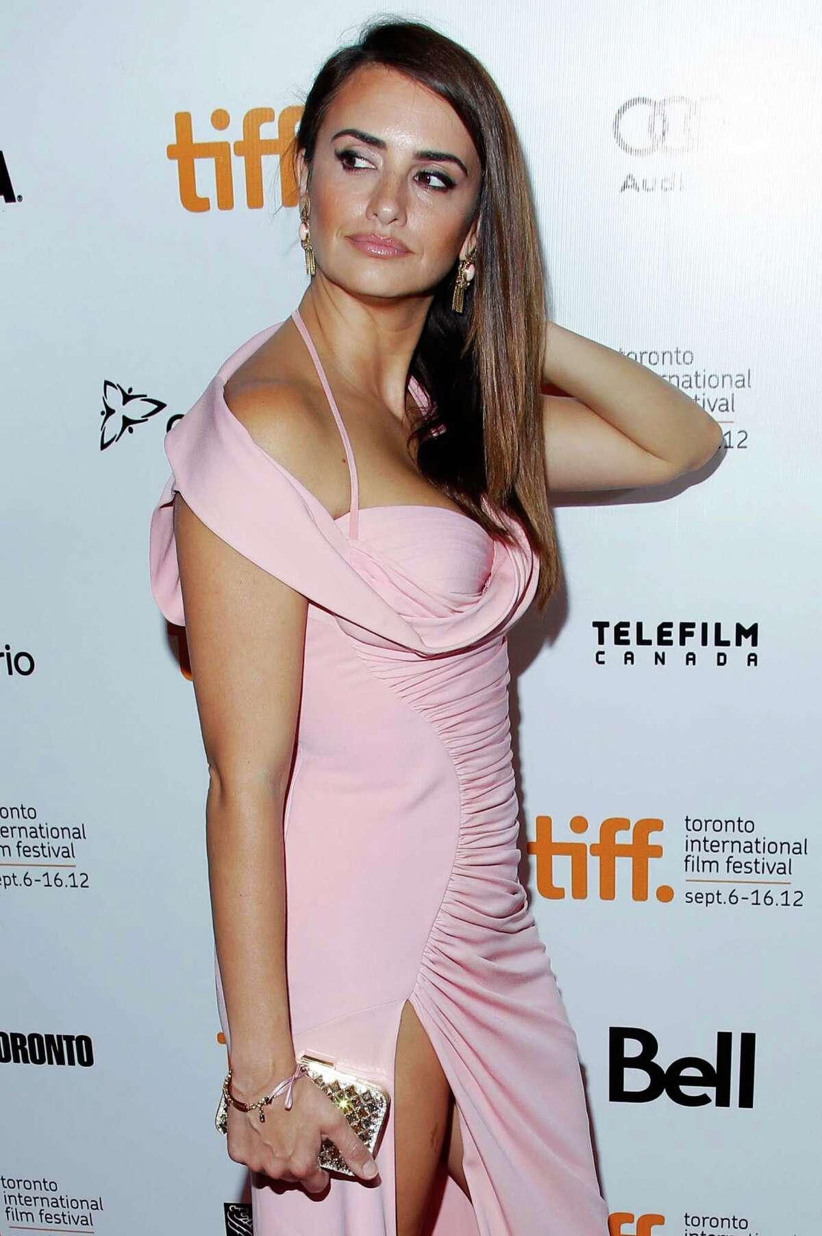 Actress Penelope Cruz arrives at the