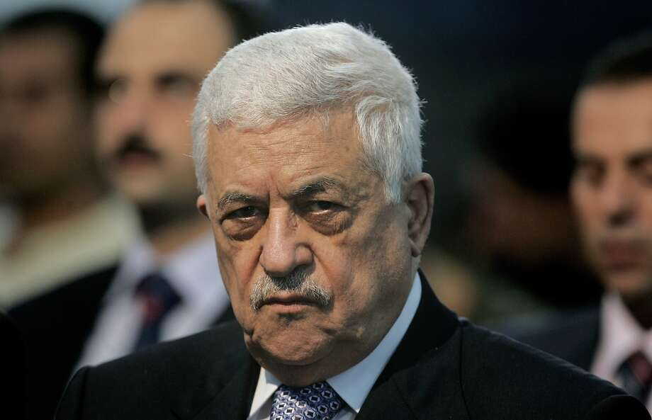 President Mahmoud Abbas appeared to be reaching out to Israelis. Photo: Muhammed Muheisen, Associated Press
