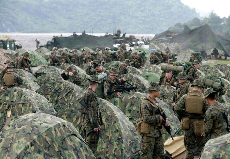 Military experienceThis is the most-valued trait in a candidate, with 43 percent saying they are more likely to vote for someone who can claim this. However, 53 percent said it would not matter. Photo: Bullit Marquez, STF / AP