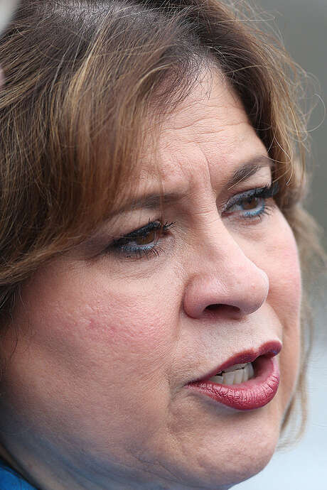 """Leticia Van de Putte says the GOP is using South Texas and the Valley as """"political pawns."""" Photo: JERRY LARA, San Antonio Express-News / © 2014 San Antonio Express-News"""