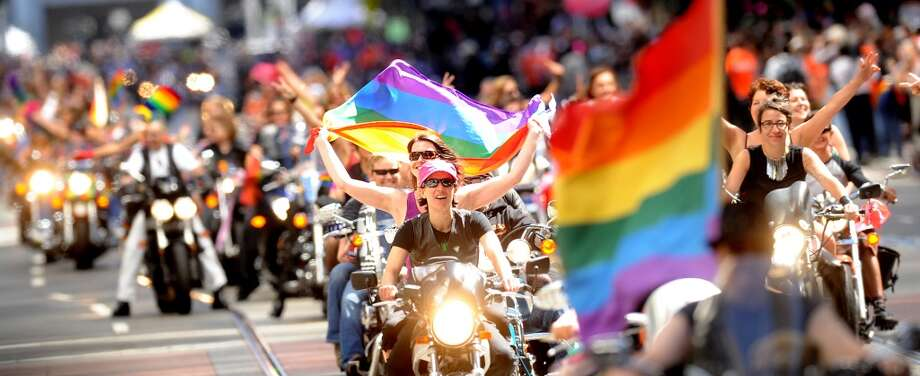 June 28-29, S.F. Pride Celebration and Parade: The month winds down with one of the City's biggest and best parties. From Dykes on Bikes to Sunday's parade, S.F. flies its rainbow flag high and proud. Website.   Photo: Noah Berger, Associated Press