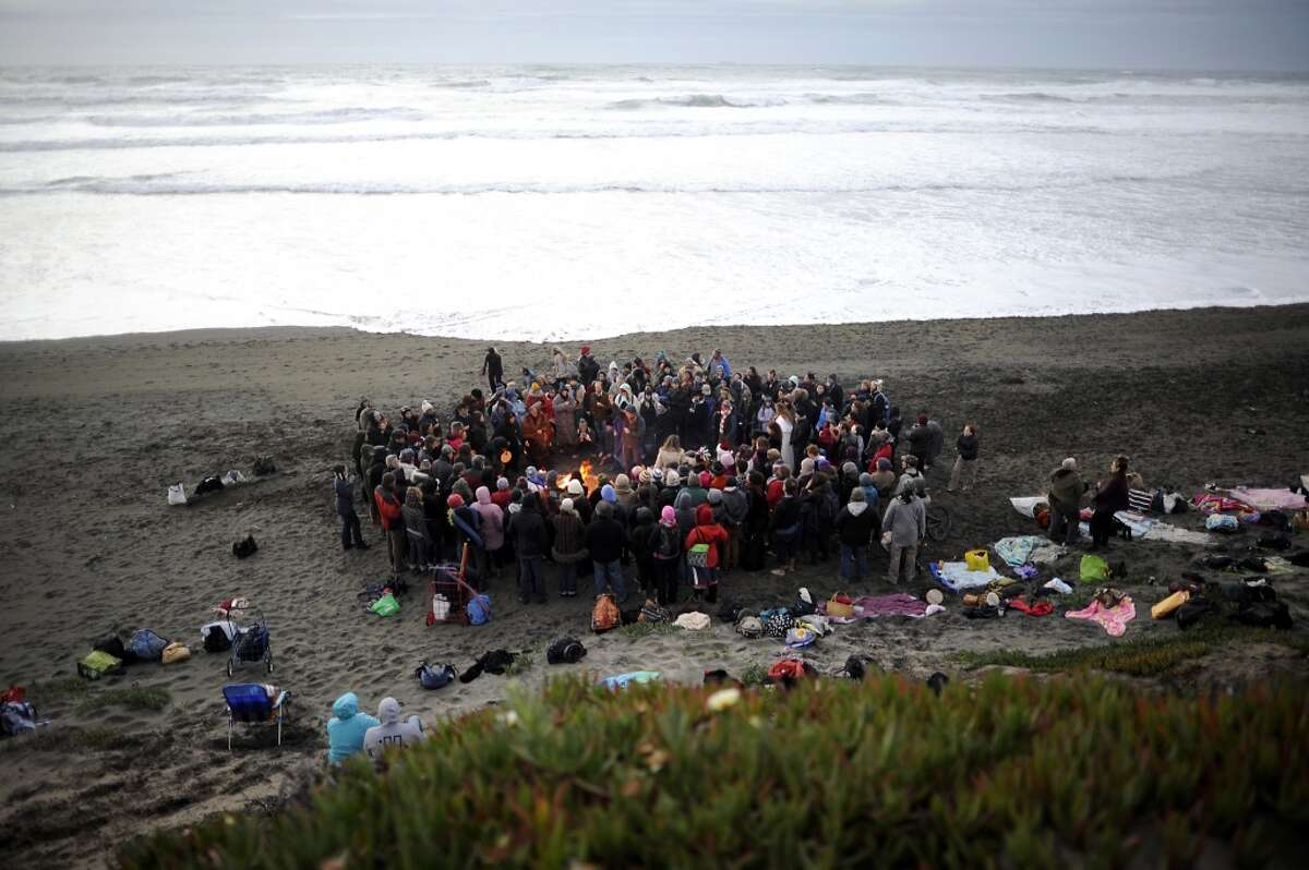 Bay Area Reclaiming's Summer Solstice Ocean Beach, June 20, 7:30 p.m. Free Reclaiming, a Bay Area pagan group, celebrate the solstice every year at Ocean Beach. The Facebook event asks guests to bring firewood, food to share, and warm clothes. It also warns that