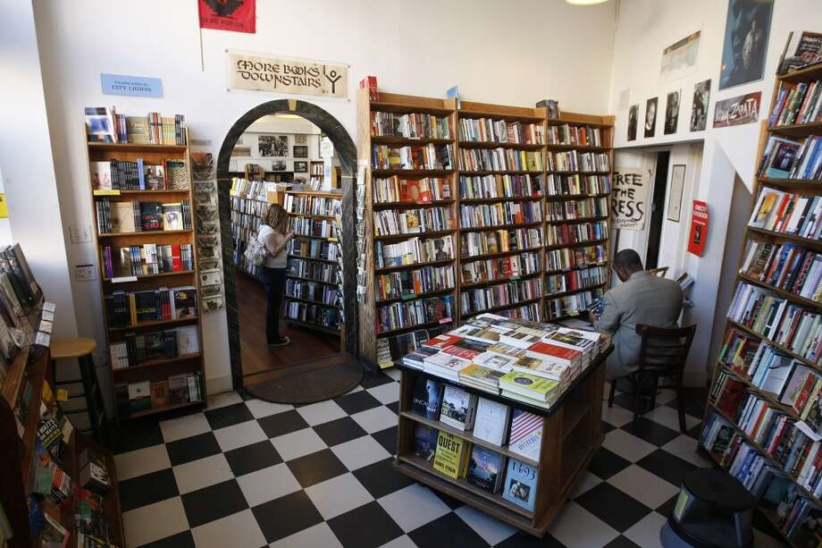 Spend a day getting lost in City Lights Bookstore. Photo: Dylan Entelis, The Chronicle