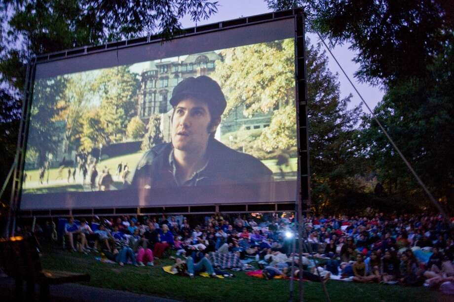 "June 14, Film Night in the Park: This popular Bay Area summer series kicks off with ""Ghostbusters"" in Dolores Park (yep, even though the park is undergoing renovations). Bring picnics and blankets, but leave chairs at home. Website. Photo: Tom Boss 2008"