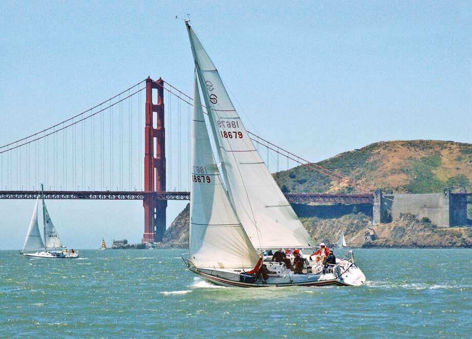 Get out on a sailboat and see why sailors come from all over the world to sail in the San Francisco Bay. Tip: Make sure you pack plenty of warm clothes. Photo: Strictly Sail Pacific Boat Show