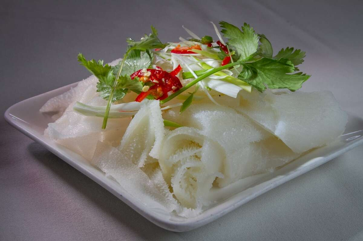 The Steamed Beef Tripe at Hong Kong Lounge II in San Francisco.