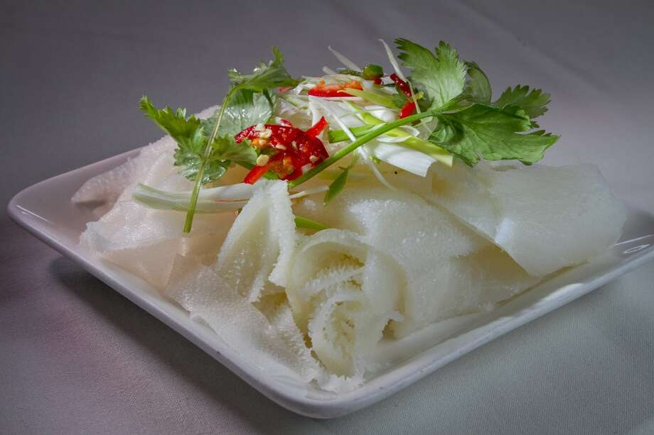 The Steamed Beef Tripe at Hong Kong Lounge II in San Francisco. Photo: John Storey, Special To The Chronicle