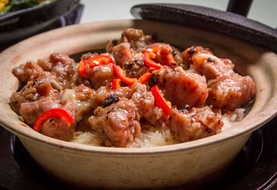 Clay Pot Rice with Pork Ribs at Hong Kong Lounge 2 in San Francisco. Photo: John Storey, Special To The Chronicle