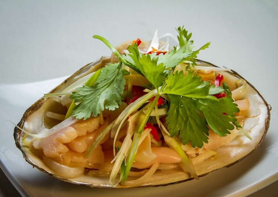 Steamed Surf Clams with Bean Sprouts at Hong Kong Lounge 2 in San Francisco. Photo: John Storey, Special To The Chronicle