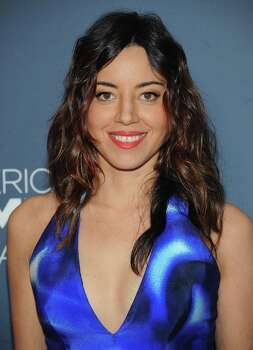 Actress Aubrey Plaza  Note: Alleged photos were reportedly released Sunday, Sept. 21 on 4chan/Reddit.  The actress has made no comment. Photo: Brad Barket, AP / Invision