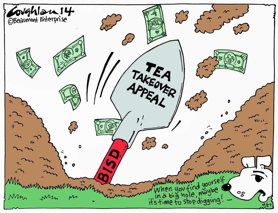 Andy Coughlan's cartoon for Sunday, April 27, 2014.