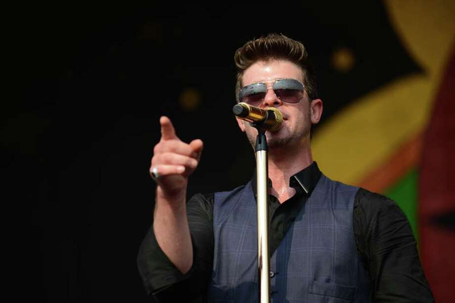 Robin Thicke  Photo: Leon Morris, Getty / 2014 Leon Morris