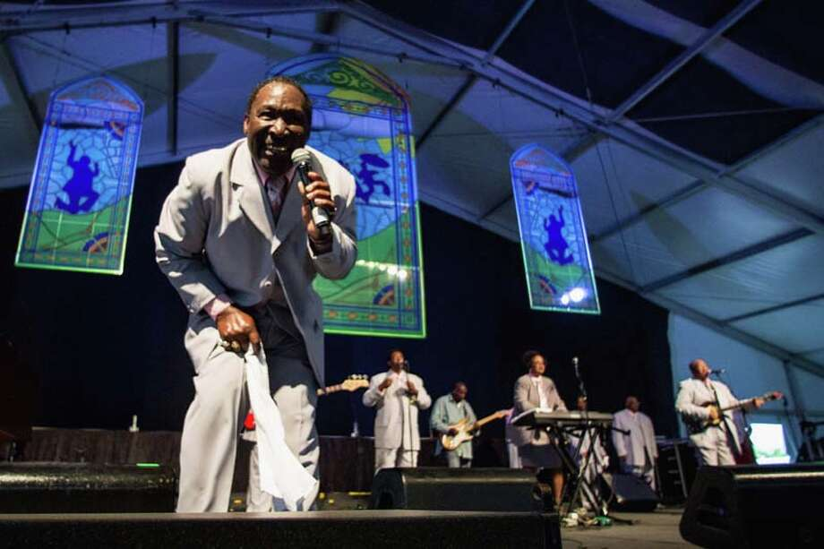 Gospel Group The Electrifying Crown Seakers  Photo: Douglas Mason, Getty / 2014 Douglas Mason