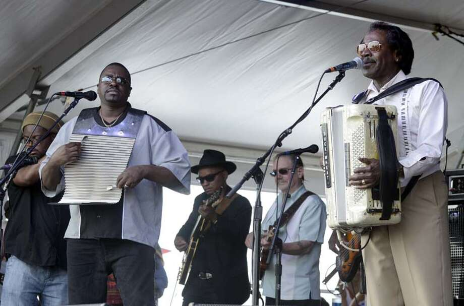 Buckwheat Zydeco  Photo: Tim Mosenfelder, Getty / 2014 Tim Mosenfelder