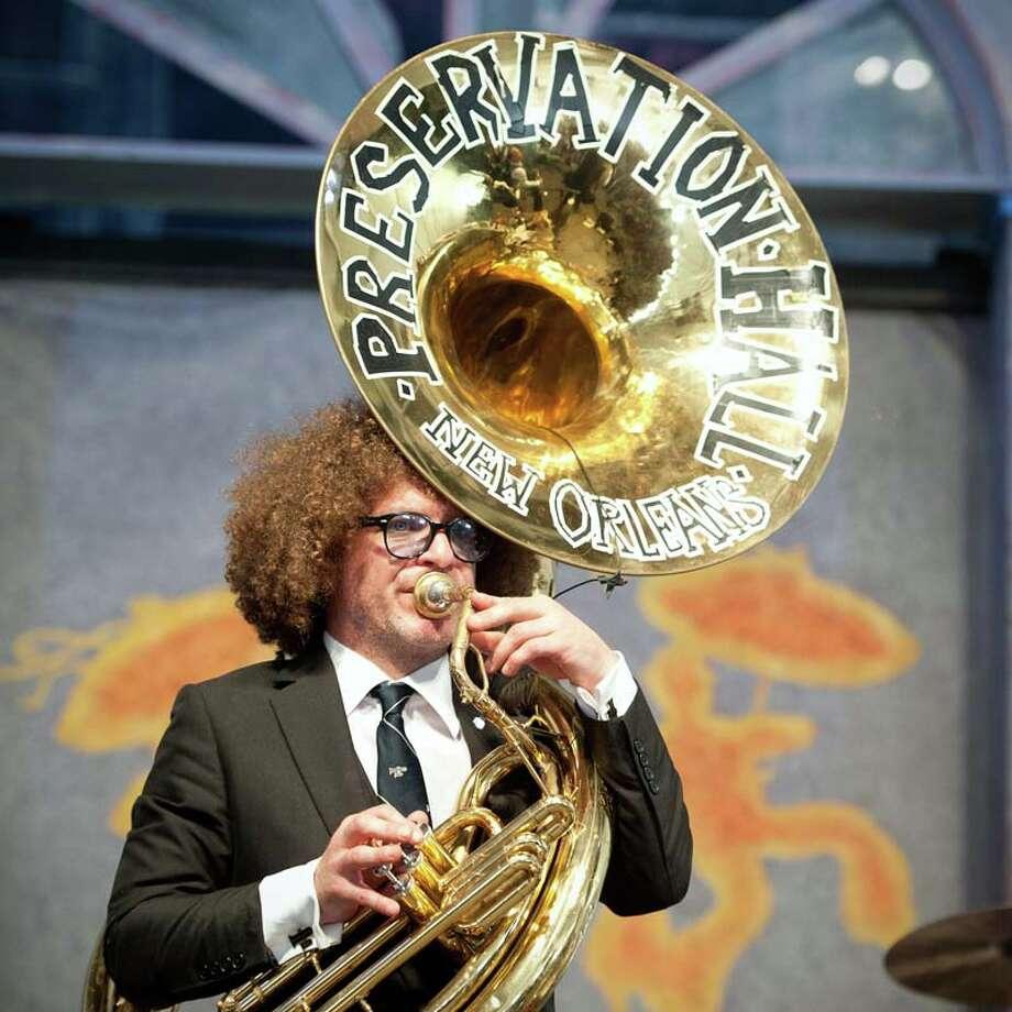 Ben Jaffe of Preservation Hall Jazz Band(Photo by Erika Goldring/WireImage) Photo: Erika Goldring, Getty / 2014 Erika Goldring