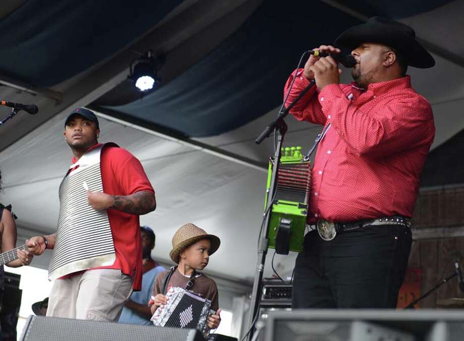 Keith Frank & the Soileau Zydeco Band  Photo: Leon Morris, Getty / 2014 Leon Morris