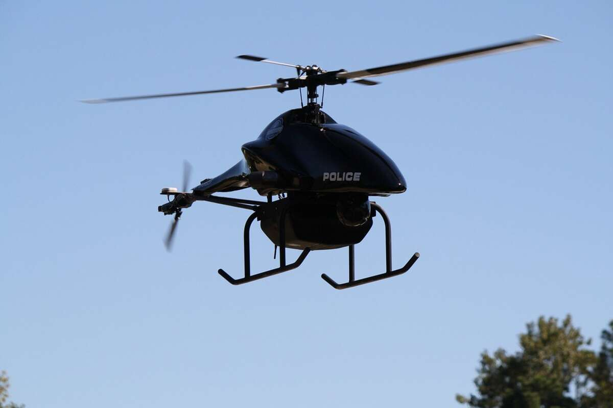 An example of another drone that could be used by police forces.