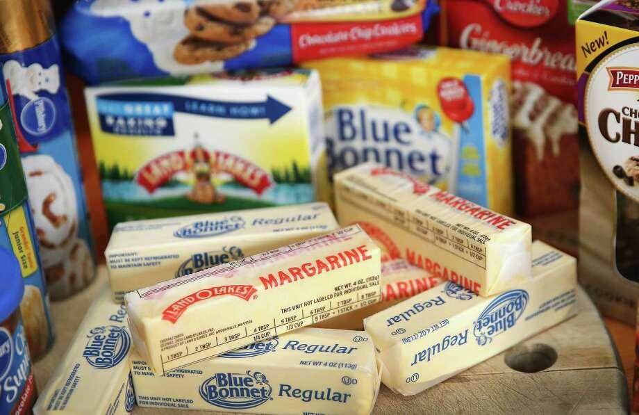 Margarine - gelatin (animal collagen) (source) Photo: Scott Olson, Getty Images / 2013 Getty Images