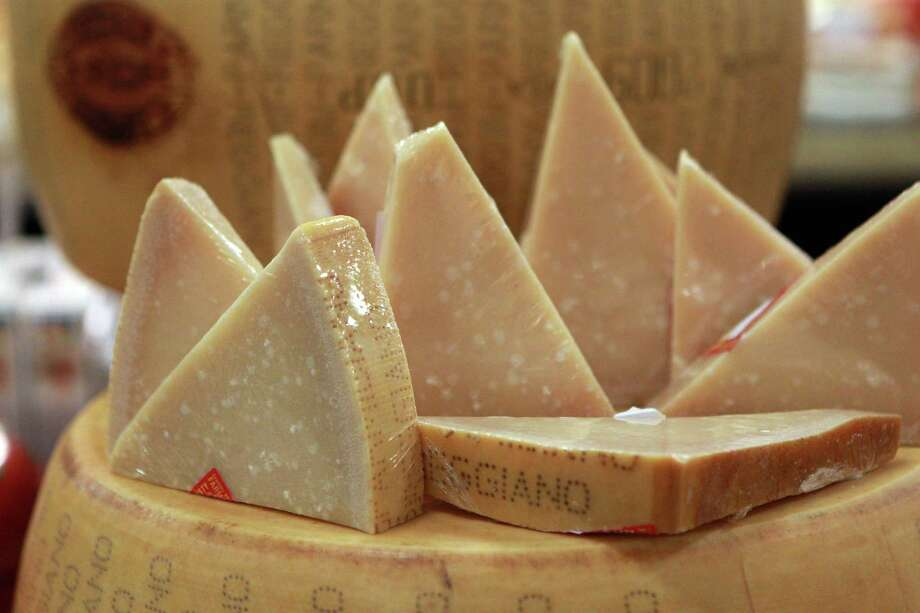 Parmigiano Reggiano - rennet (enzymes in a mammal's stomach) (source) Photo: Johnny Hanson / © 2012  Houston Chronicle