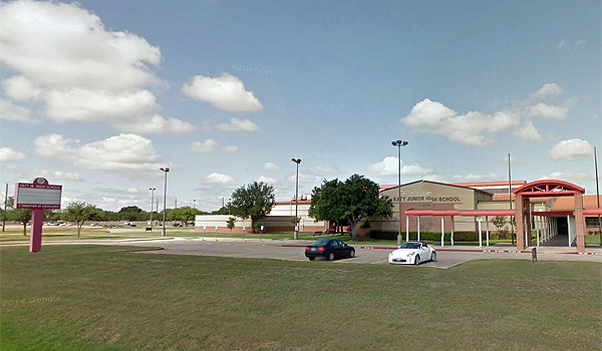 Katy Junior High is located near I-10 and the Grand Parkway in Katy. (Google Maps photo)