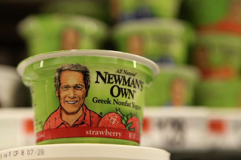 Newman's Own is making greek yogurt and Stop & Shop in Bridgeport and other New England grocery stores offer the product. Monday, April 28, 2014. Photo: Unknown, B.K. Angeletti / Connecticut Post freelance B.K. Angeletti
