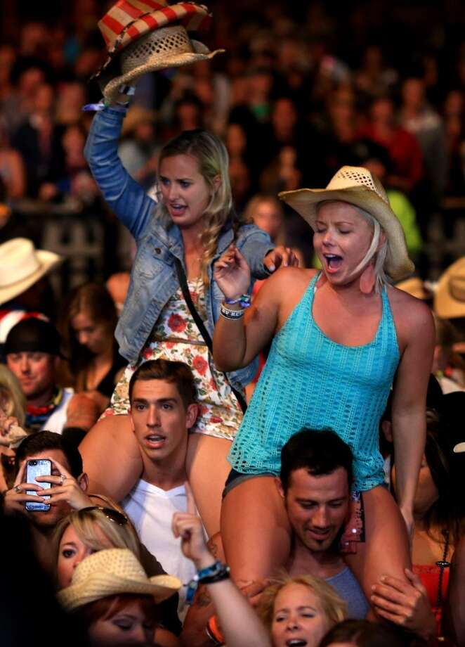 Music fans attend 2014 Stagecoach: California's Country Music Festival at the Empire Polo Club on April 27, 2014 in Indio, California. Photo: Christopher Polk, Getty Images For Stagecoach