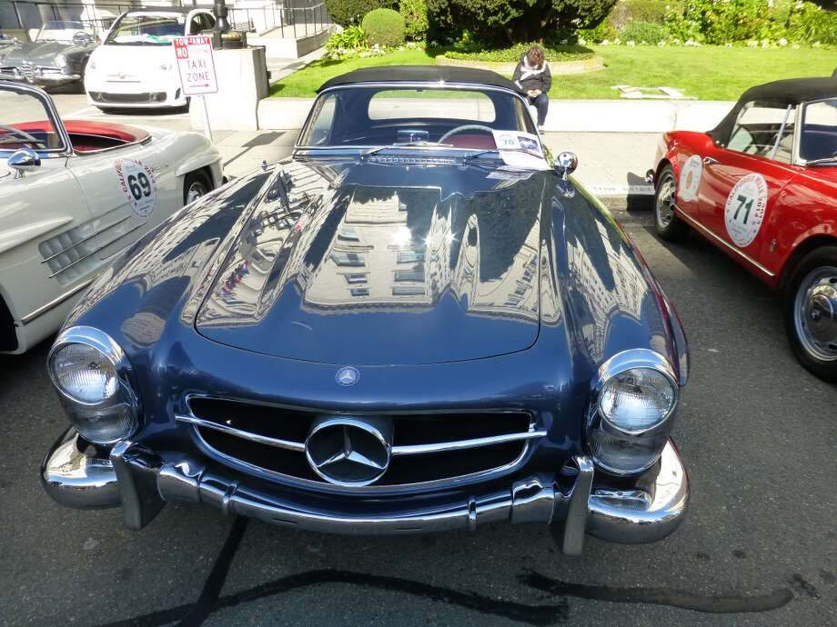 1961 Mercedes-Benz 300SL.