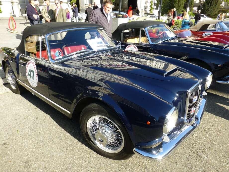 1957 Lancia Aurelia.