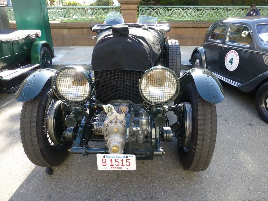 1929 Bentley 4.5 supercharged.