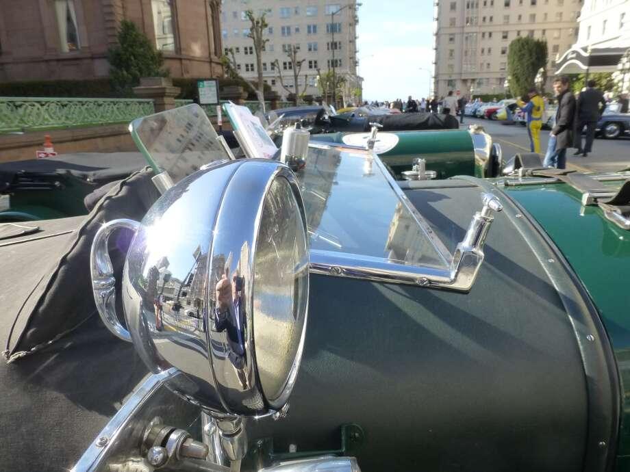 Large lights on Bentleys.