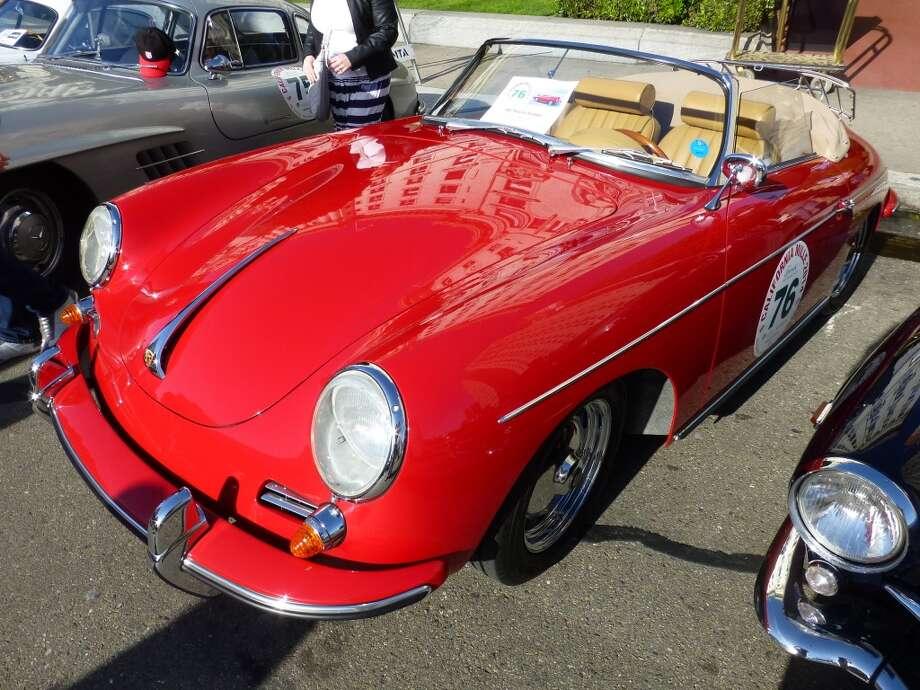1962 Porsche 356B roadster.