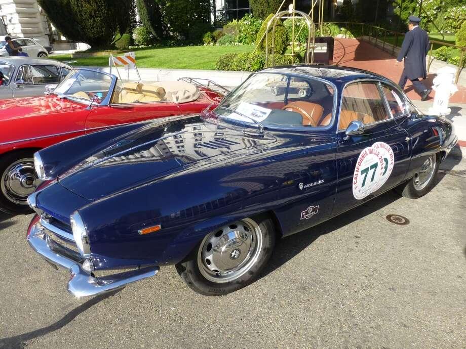 1964 Alfa Romeo Sprint Speciale.