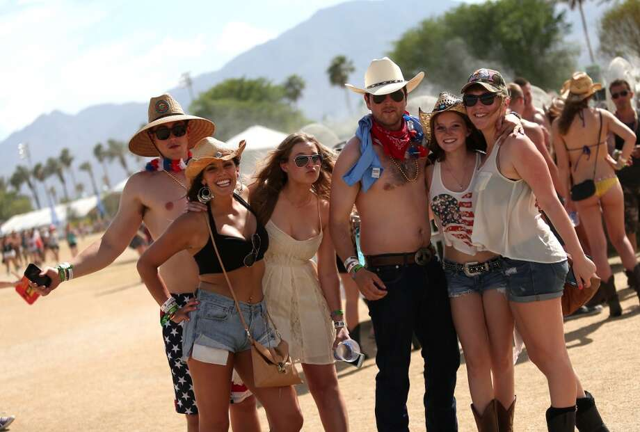 Music fans are seen during 2014 Stagecoach: California's Country Music Festival at the Empire Polo Club on April 25, 2014 in Indio, California. Photo: Mark Davis, Getty Images For Stagecoach