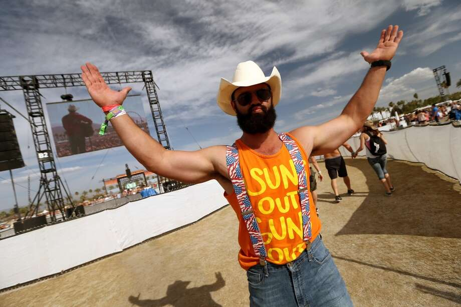 Music fans are seen during 2014 Stagecoach: California's Country Music Festival at the Empire Polo Club on April 25, 2014 in Indio, California. Photo: Christopher Polk, Getty Images For Stagecoach