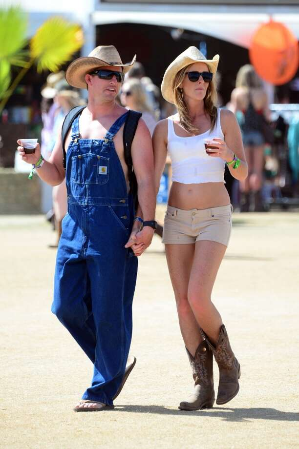 Festival goers attend 2014 Stagecoach: California's Country Music Festival at the Empire Polo Club on April 26, 2014 in Indio, California. Photo: Frazer Harrison, Getty Images For Stagecoach