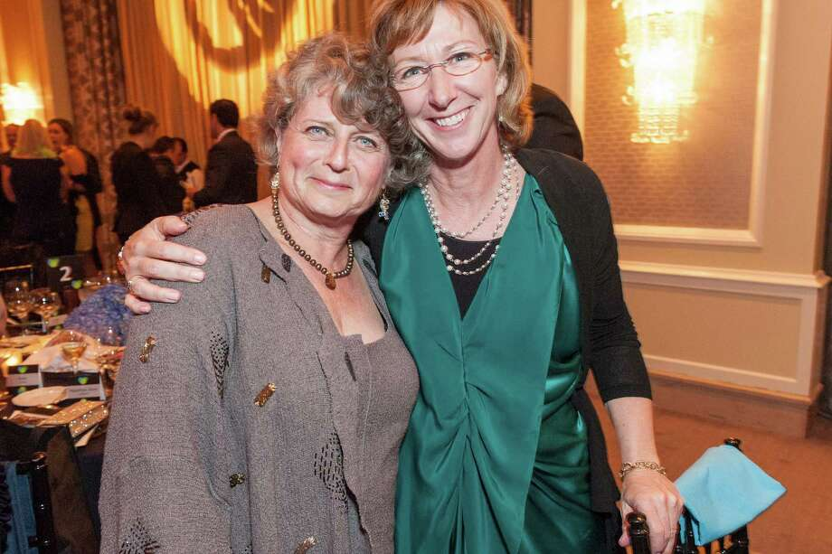 Susan Medak and Emily Shanks at Berkeley Rep's Ovation Gala on April 19, 2014. Photo: Drew Altizer Photography/SFWIRE, Drew Altizer Photography / ©2014 Drew Altizer Photography