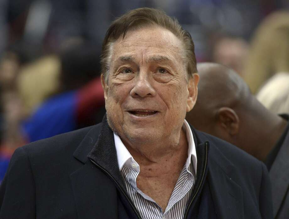 Clippers owner Donald Sterling has drawn condemnation from people in and out of the sports world after racist comments he allegedly made became public. Photo: Kirby Lee, Reuters