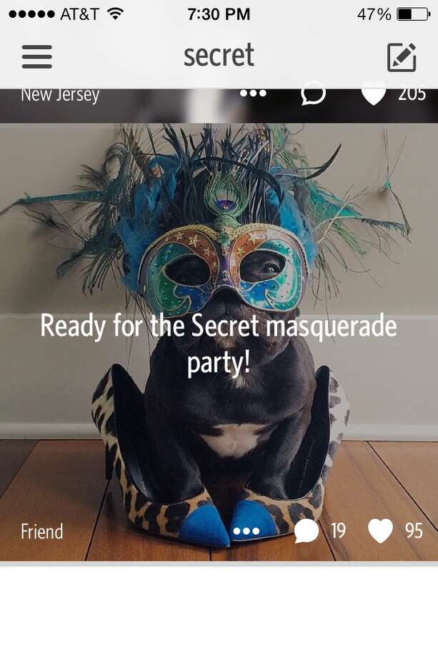 On Saturday, the anonymous social network Secret threw a masquerade ball. These are the best Secrets from the bash.