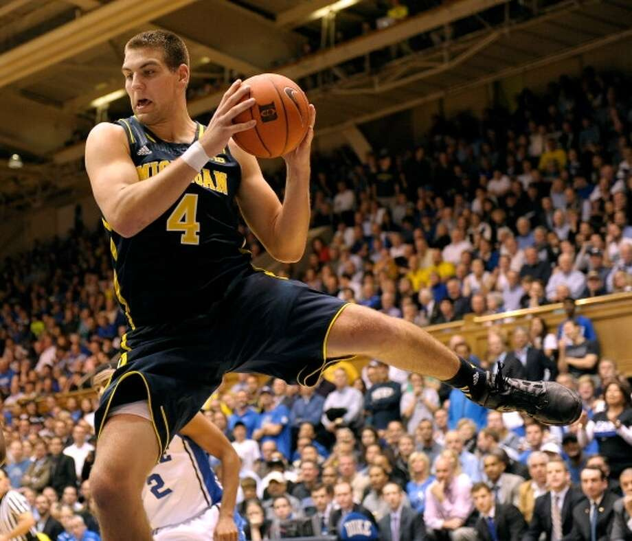 Mitch McGary  Position: Forward  Ht./Wt: 6-10/255 lbs  School: Michigan  Classification: Sophomore  2013-14 stats: 10 points, eight rebounds, one assist, two steals per game Photo: Grant Halverson, Getty Images