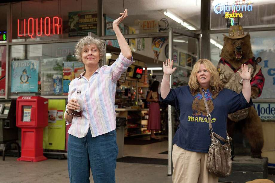 "This image released by Warner Bros. Pictures shows Susan Sarandon, left, and Melissa McCarthy in a scene from ""Tammy."" Photo: Michael Tackett, Associated Press / Warner Bros. Pictures"