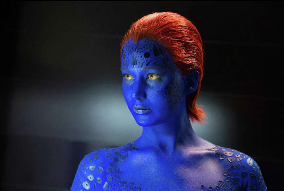"This image released by 20th Century Fox shows Jennifer Lawrence in ""X-Men: Days of Future Past.""  Photo: Alan Markfield, Associated Press / 20th Century Fox"