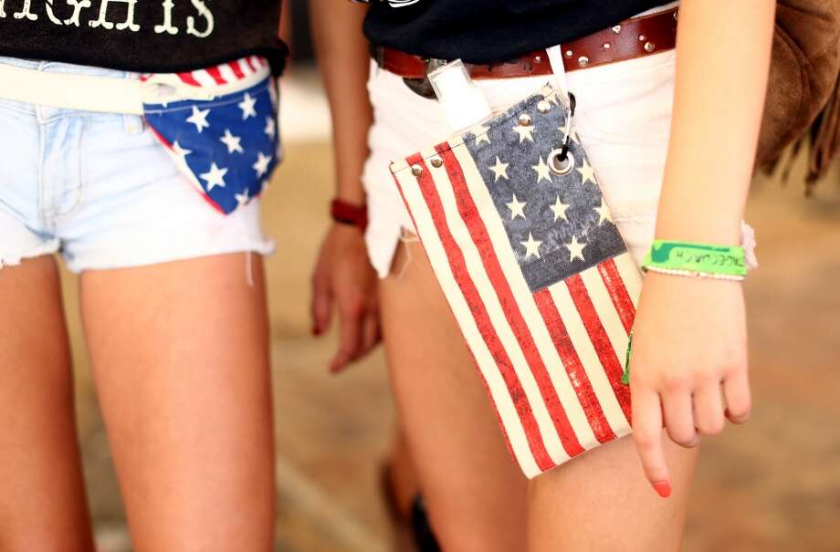 We want to know where the American Flag Fanny Pack Store is, and how crowded it gets on weekends. Photo: Christopher Polk, Getty Images For Stagecoach
