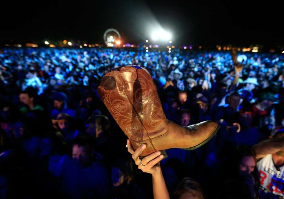 The music is so good, you will take your boot off and wave it around? Why have we not heard of this trend? Photo: Christopher Polk, Getty Images For Stagecoach