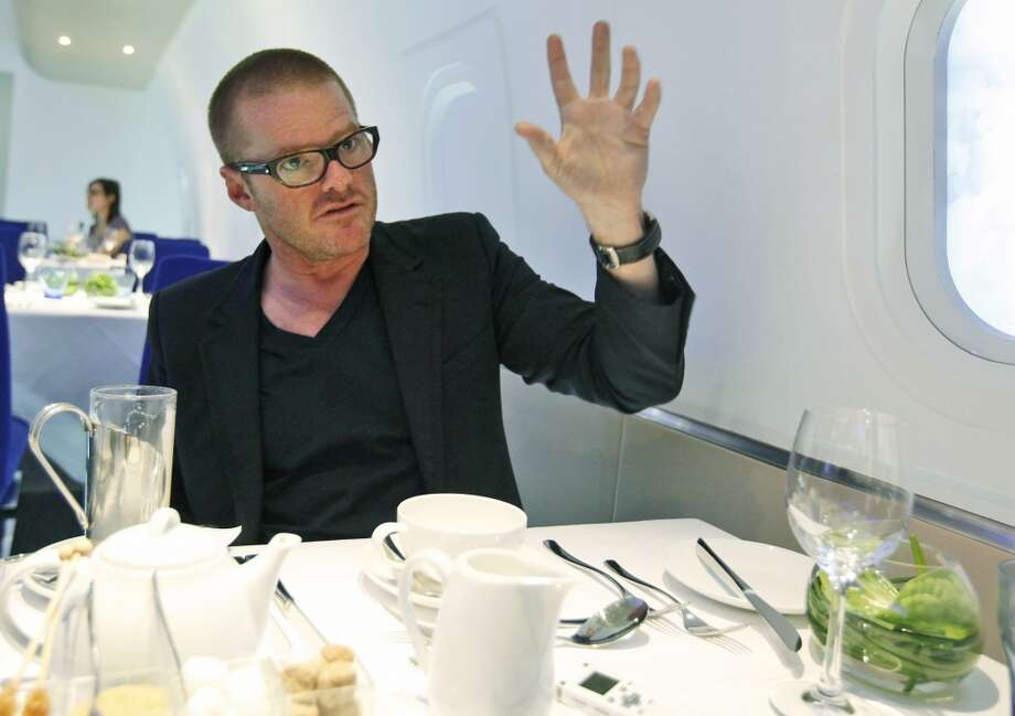 #9: Dinner By Heston Blumenthal, London, UK. Photo: Alastair Grant, Associated Press