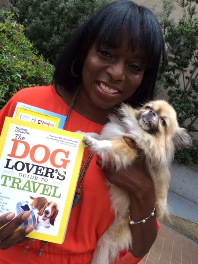 Kelly E. Carter, author of 'The Dog Lover's Guide to Travel,' (National Geographic, 2014), and her long-haired chihuahua, Lucy. Photo: Carolyne Zinko, The Chronicle