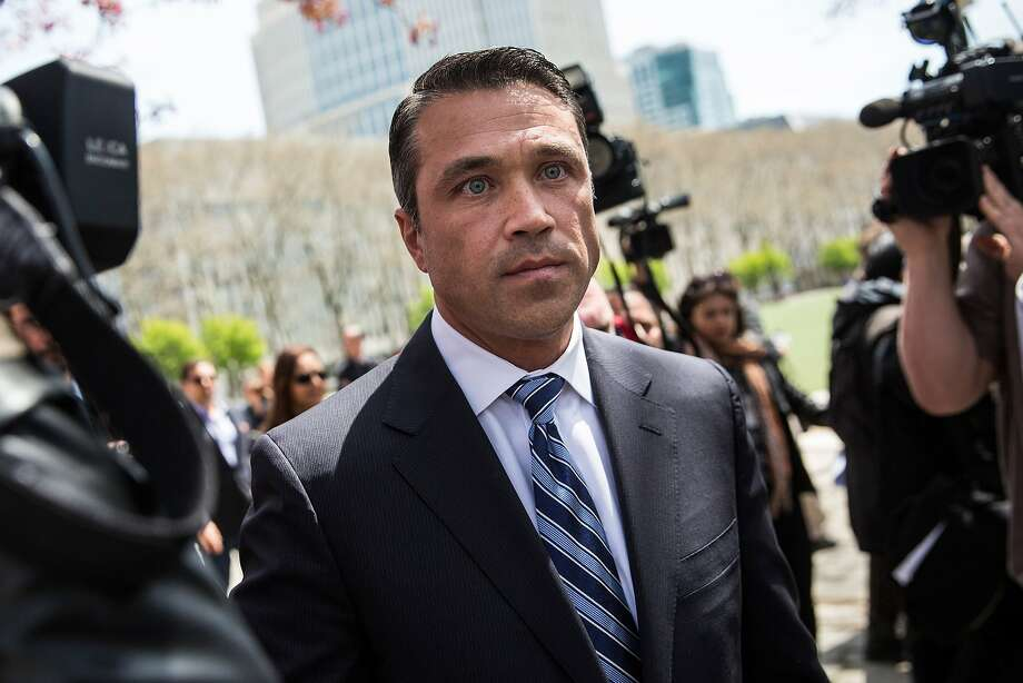 Rep. Michael Grimm called his indictments for 20 counts of fraud a political witch hunt. Photo: Andrew Burton, Getty Images